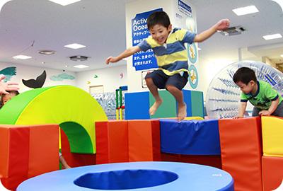 跳ぶ、跳ねるなどの動き