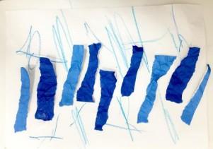 6/27、7/4(水)「ちぎってパラパラ紙の雨を降らそう」2歳~向け