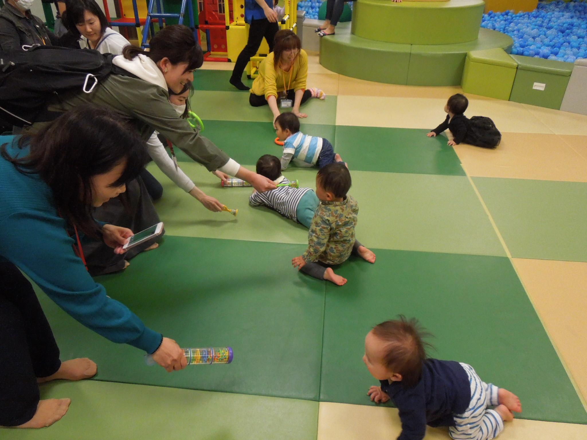 【火・木曜開催!赤ちゃんの日イベント】5/21(火)ハイハイレース