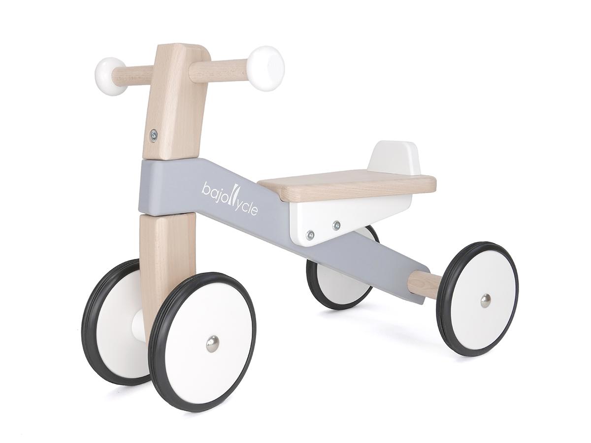 【じっくりおうち時間2】木の四輪バイク