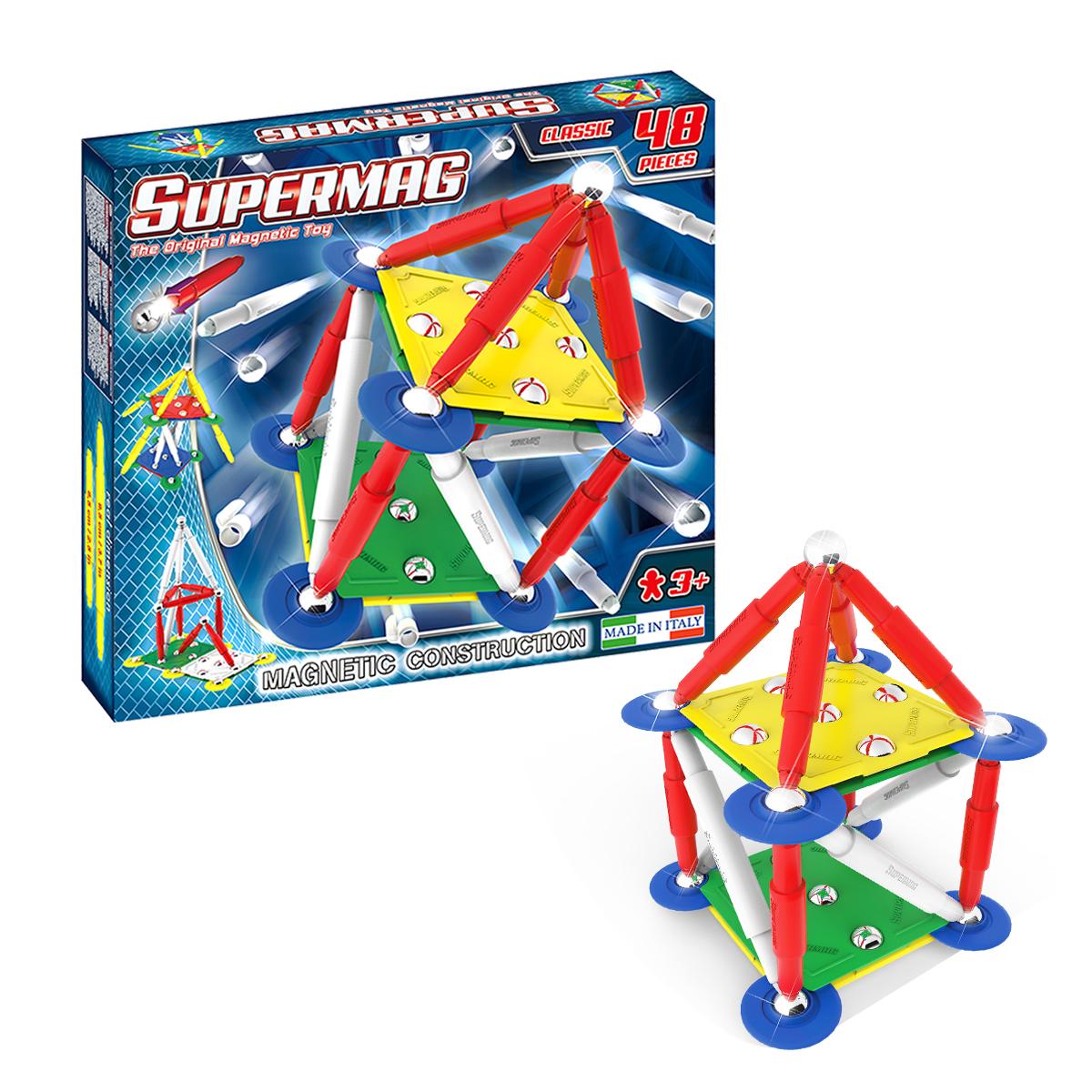 組立て遊びの新商品! スーパーマグシリーズ
