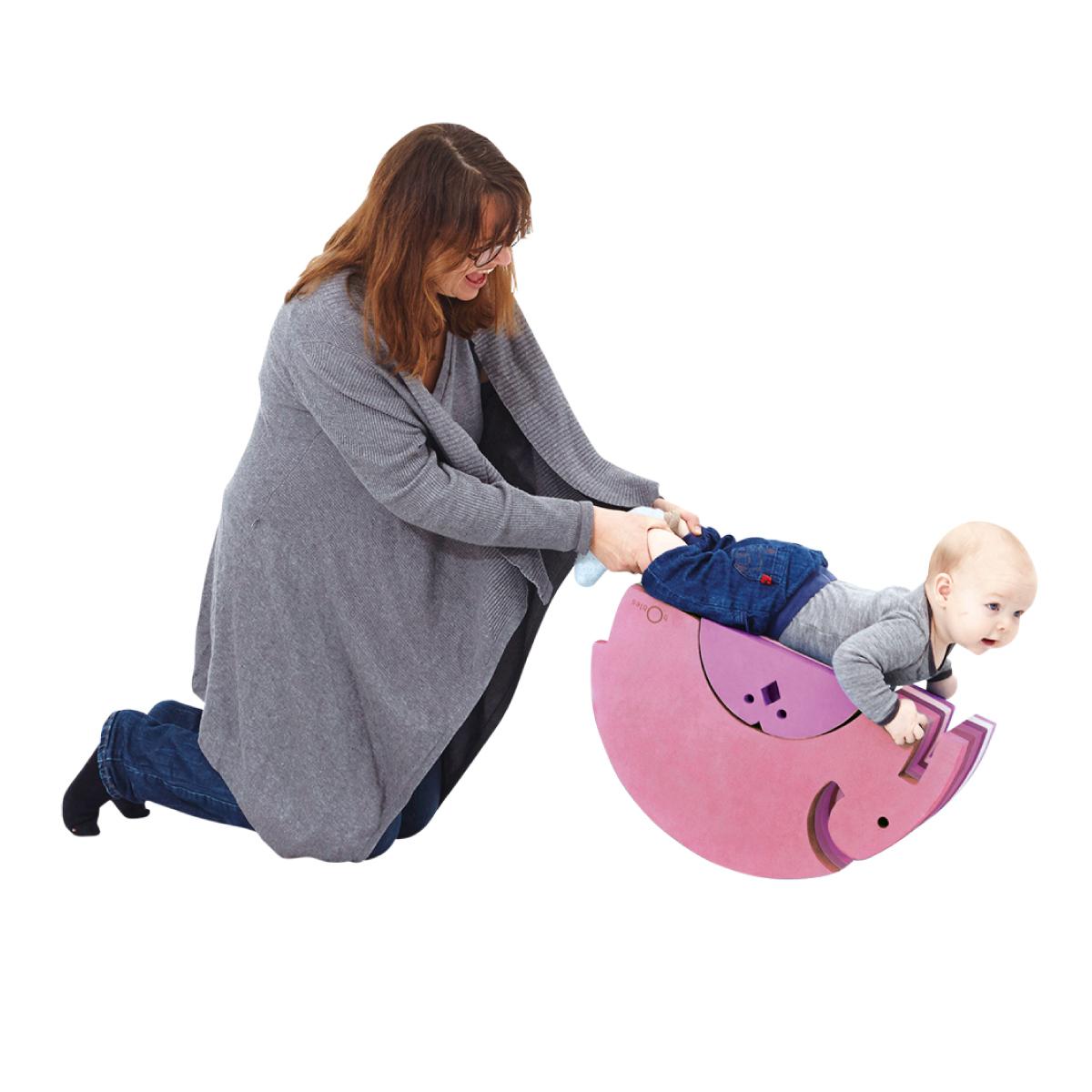 """赤ちゃんの""""からだ遊び""""ボブルス体験会"""