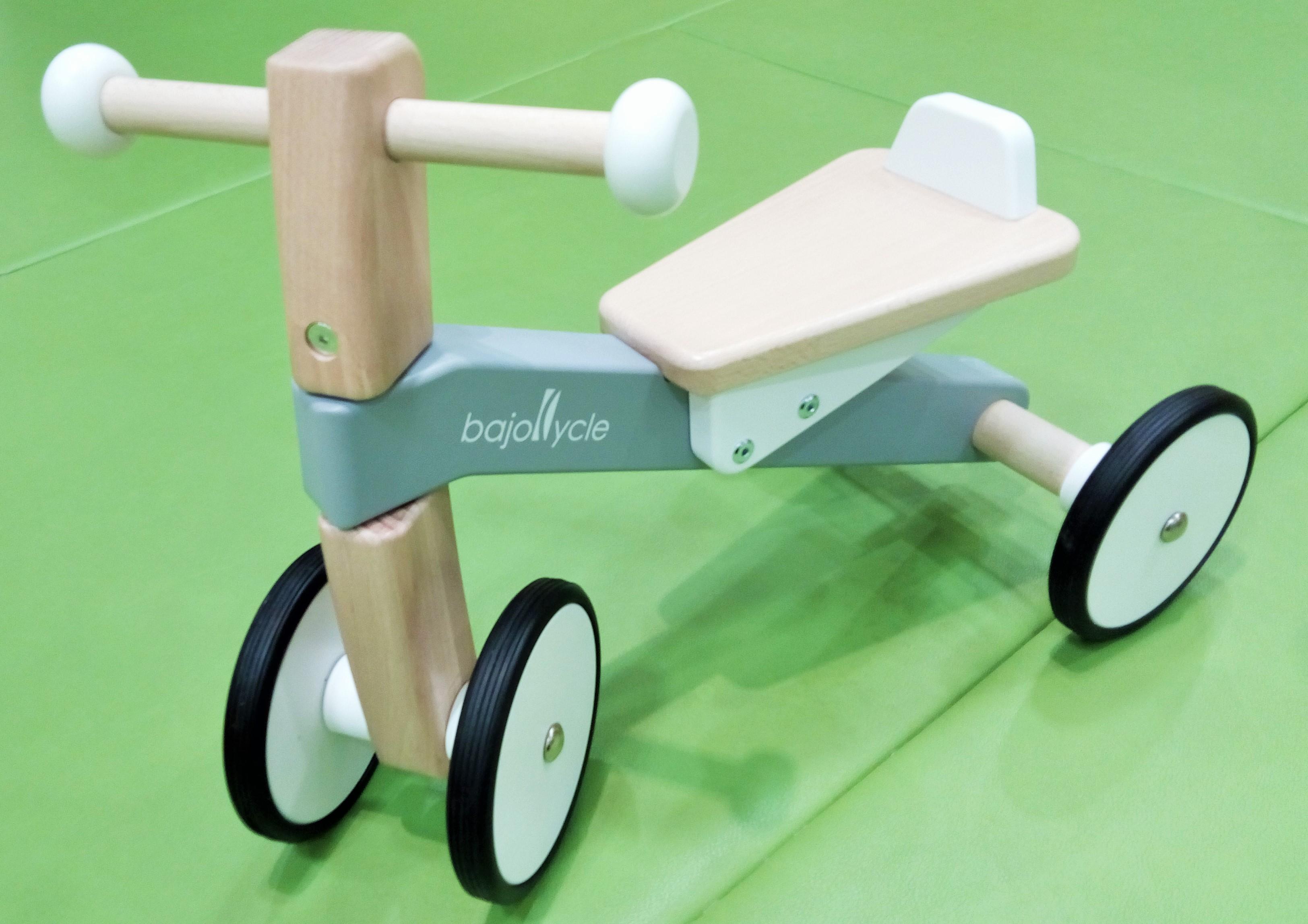 新商品「木の四輪バイク」のご紹介