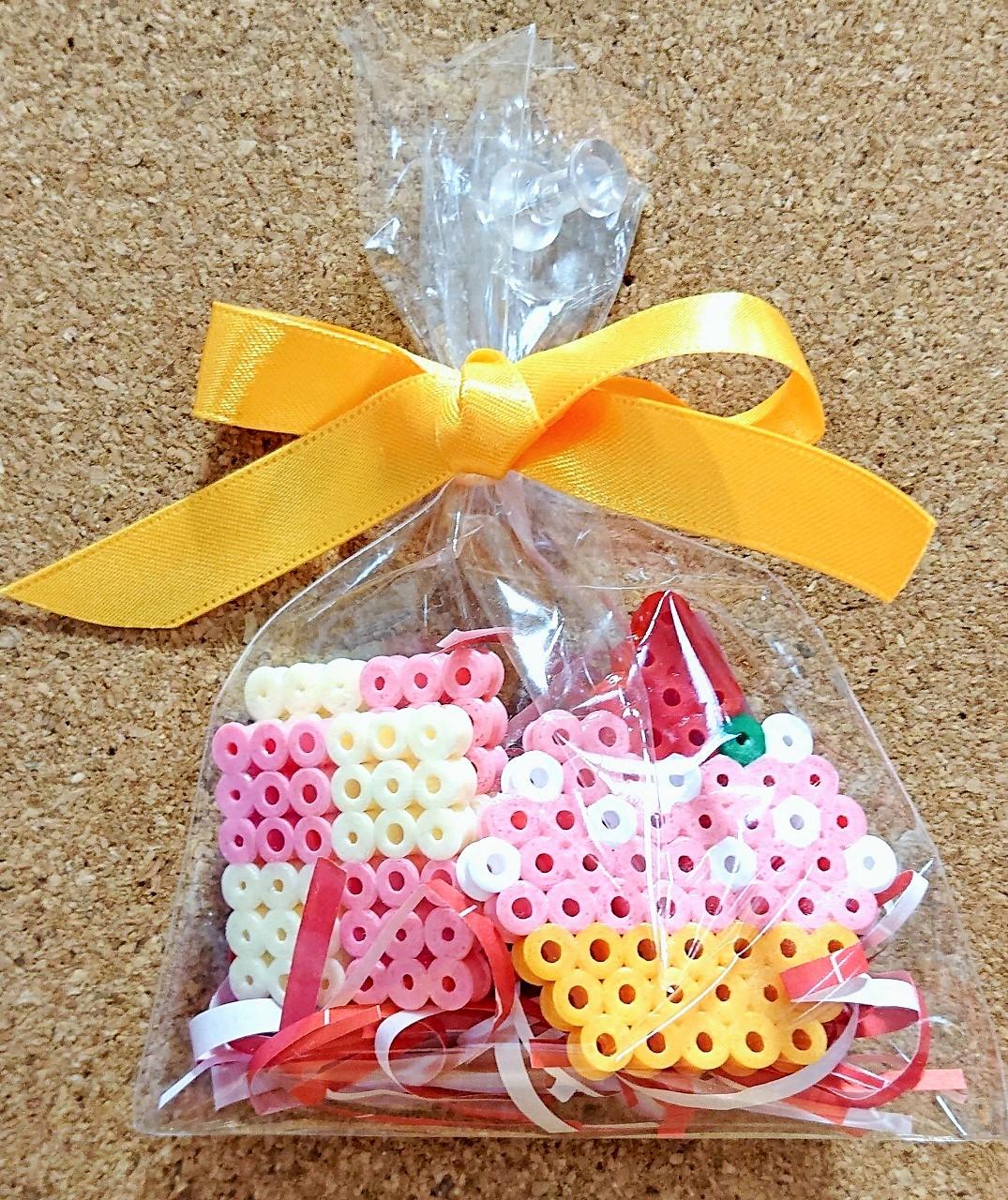 【HAMAビーズにハマっちゃお!#2】カップケーキとクッキー