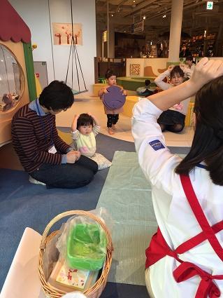 イベント「手形スタンプで遊ぼう」を開催しました