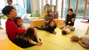 イベント「親子で楽しくふれあいあそび」を開催しました!