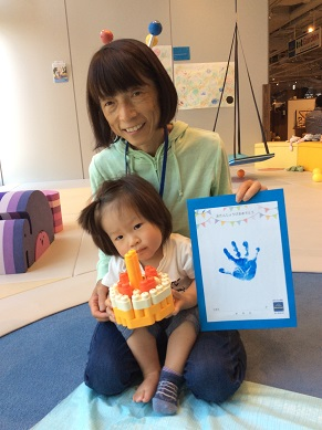 イベント「お誕生日をお祝いしよう~記念の手形をとろう~」開催しました!