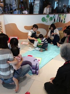 イベント「お誕生日会~記念の手形をとろう~」を開催しました