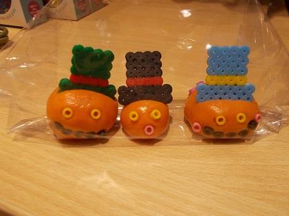ショップイベント☆かんてんネンドで、おもしろかぼちゃをつくろうを開催しました。
