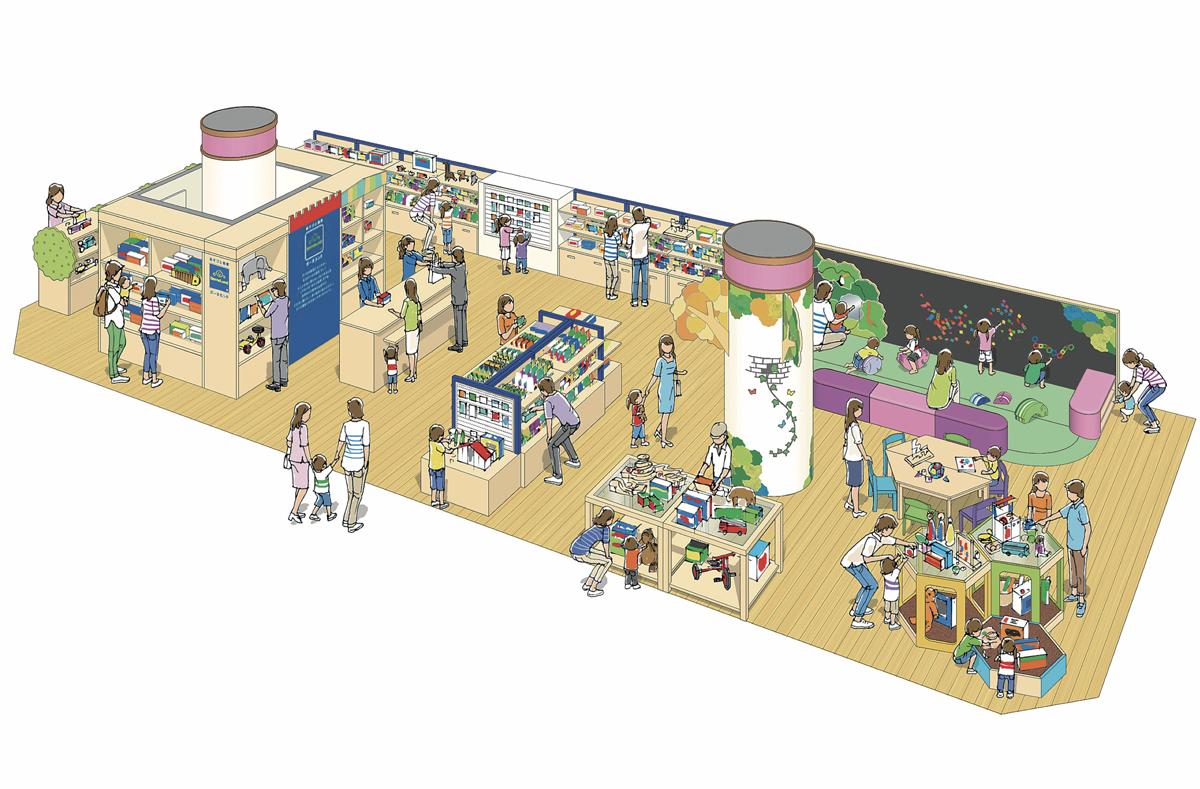 「ボーネルンド 近鉄百貨店奈良店 」4/13(水)にリニューアルオープン