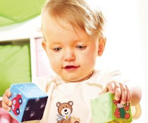 赤ちゃんの育ちと空想遊び