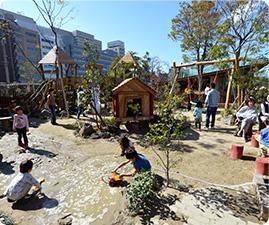 ボーネルンド プレイヴィル 天王寺公園 1周年記念スペシャル企画開催