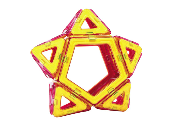 11/5(土)のボーネルンドショップは、磁石でつながる数学ブロック「マグ・フォーマー」で星作りに挑戦!