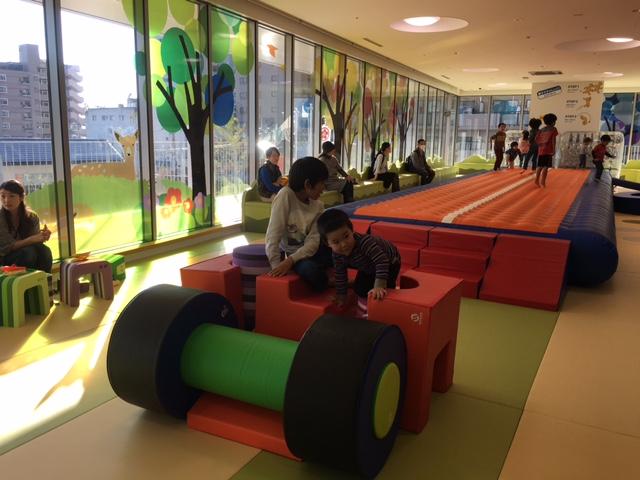 大和市文化創造拠点に、子どものあそび場をプロデュースしました