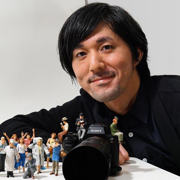 田中達也の見立ての世界 × ジク社のミニチュア・カー