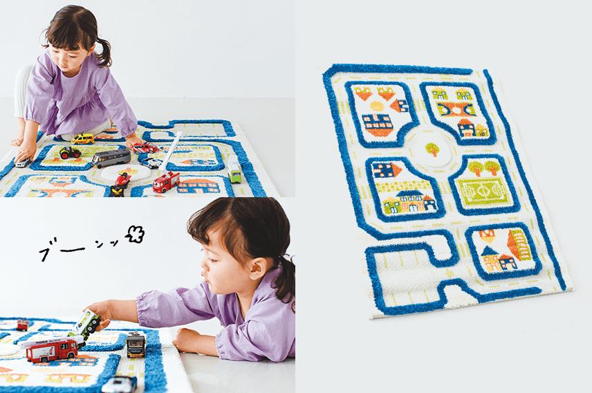 <span>想像力がぐんと広がるリアルなあそび場</span><span>3Dプレイカーペット マイタウン(S)</span>
