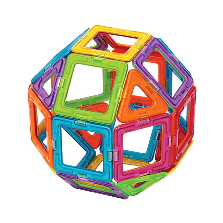 磁石でつながる数学ブロック、マグフォーマー体験会開催!!