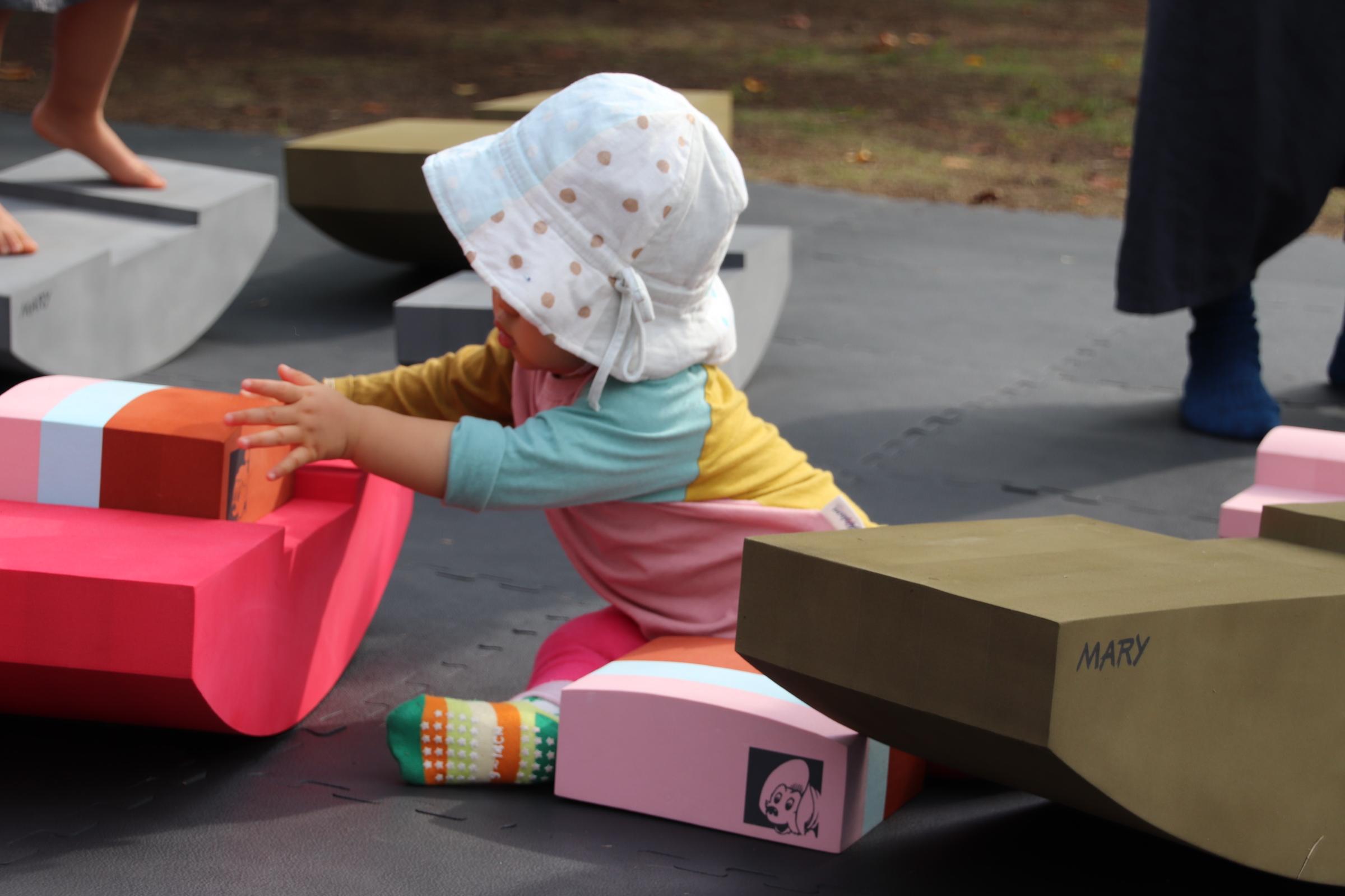 ボブルス「遊べる家具」-豊洲ウォーカソンイベント-