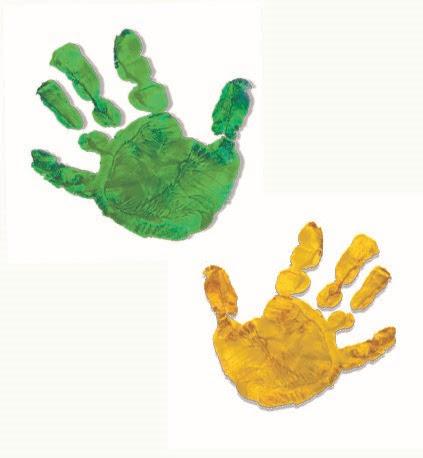 赤ちゃんとはじめて迎えるクリスマス 手型で想い出をのこそう