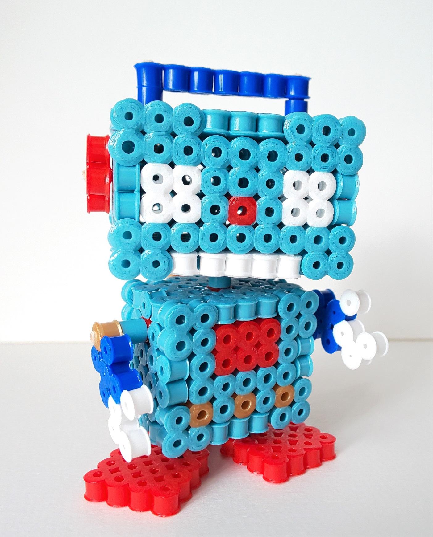 ハマビーズで作ってみよう!Vol.10『立体ロボット(パーツ制作編)』