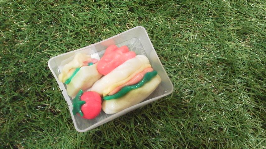 かんてんネンドでピクニック弁当づくり
