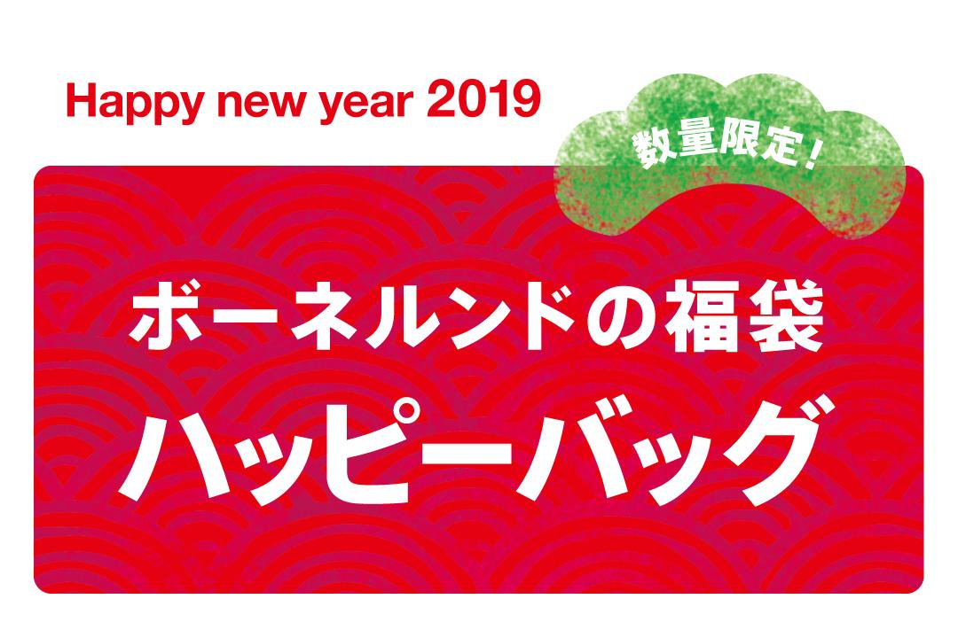 新しい年、新しいあそびで初笑い。「ハッピーバッグ 2019」販売!