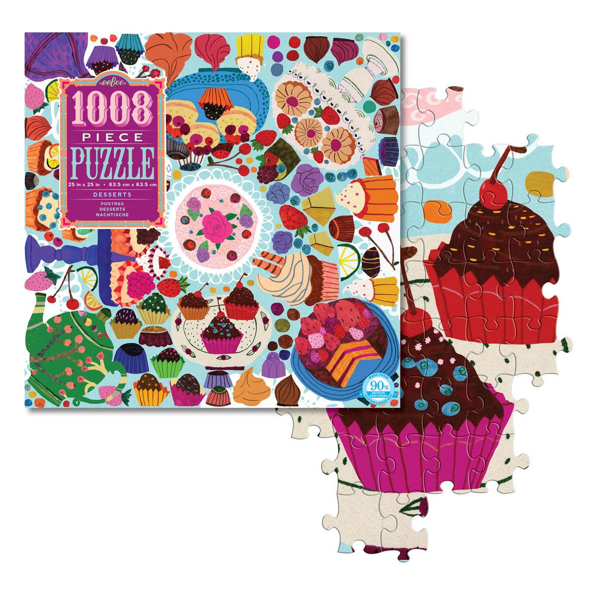 1008pcs puzzle ny sweets