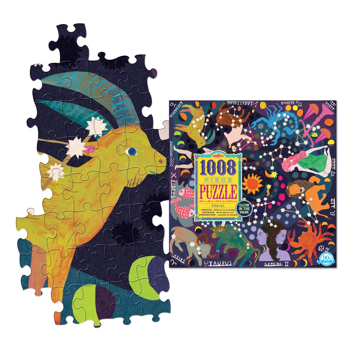1008pcs puzzle zodiac