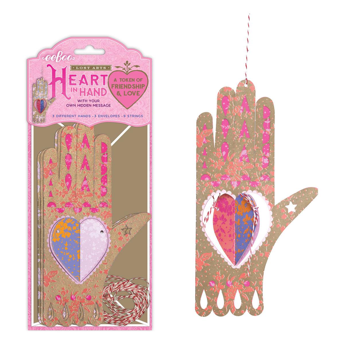 secret card hand shape