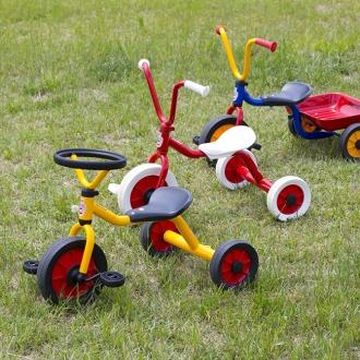 屋上イベント三輪車