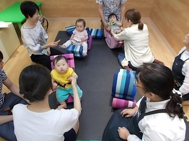 赤ちゃんイベント【赤ちゃんのための体あそび】が開催されました
