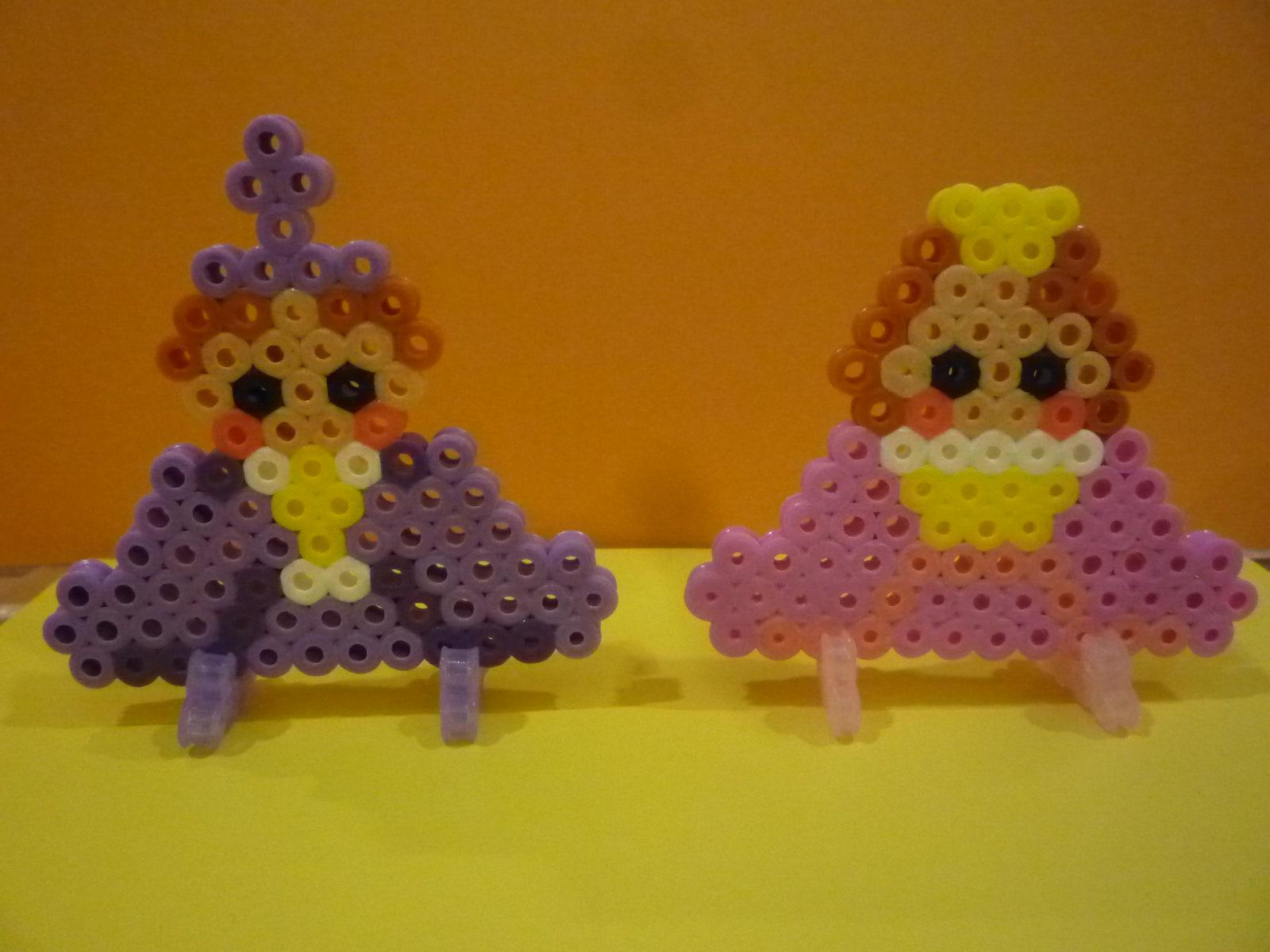 ハマビーズでひな人形づくりイベント開催!!