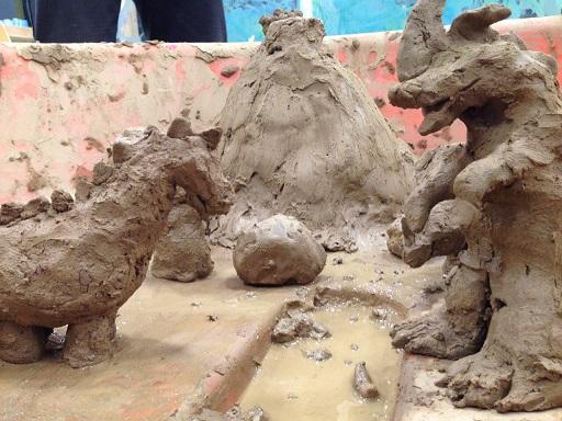 砂からネンドづくり