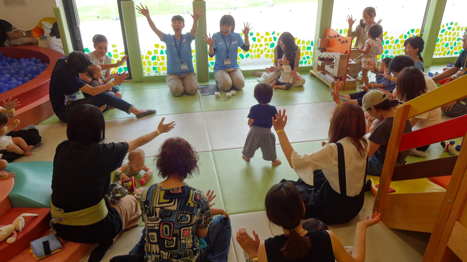9月4日(水)に開催したベビーイベントの様子